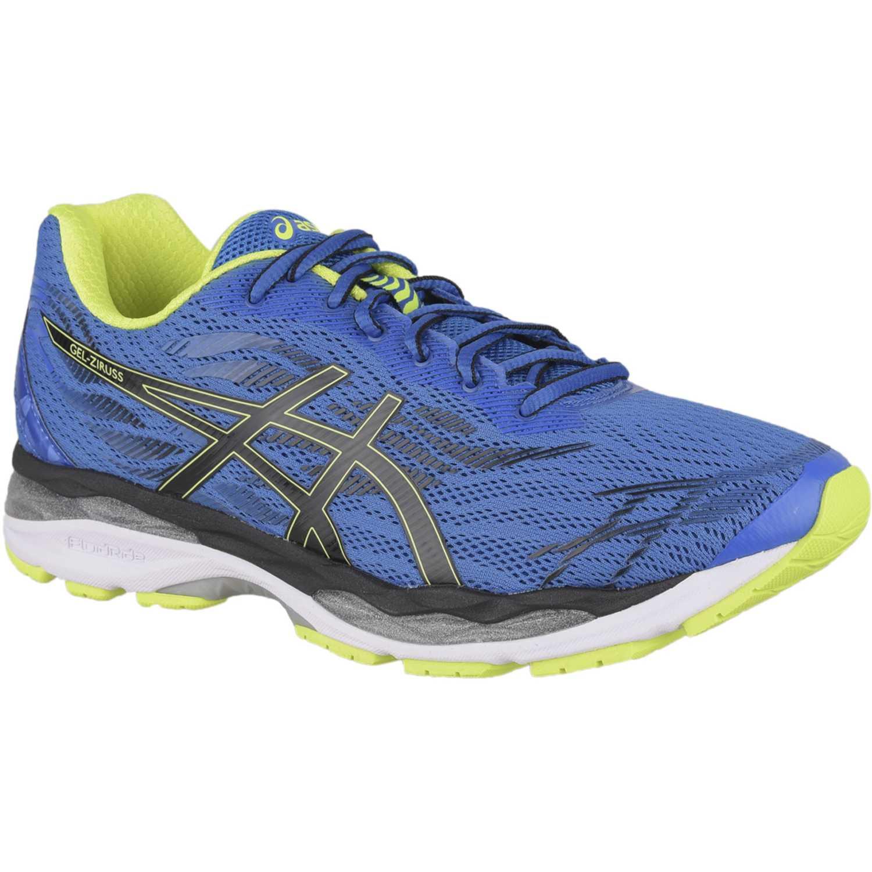 Asics GEL ZIRUSS Azul / verde Running en pista | platanitos.com