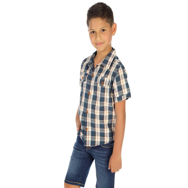Camisa de Niño COTTONS JEANS Acero jeremias