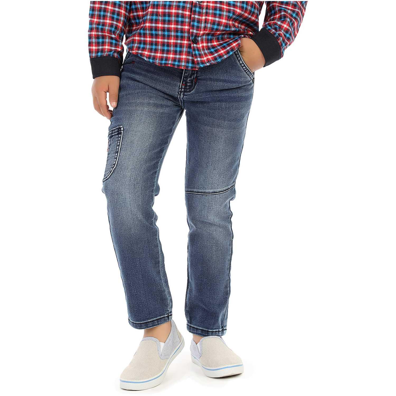 Pantalón de Niño COTTONS JEANS Azul roberto