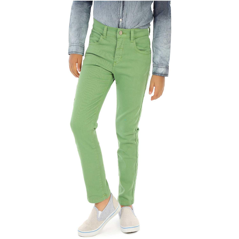 Pantalón de Niño COTTONS JEANS Verde roberto