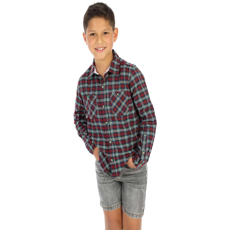 Camisa de Niño COTTONS JEANS Vino rony