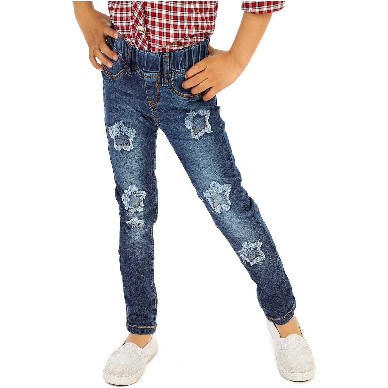 Pantalón de Niña COTTONS JEANS Azul clarita
