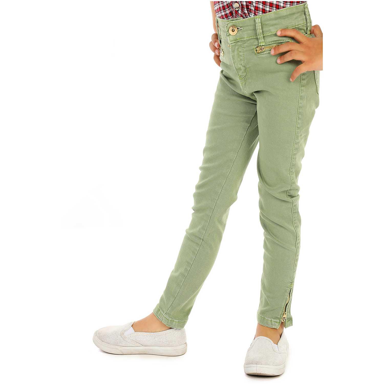 Pantalón de Niña COTTONS JEANS Verde yoice