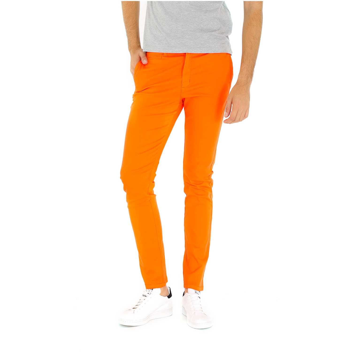 COTTONS JEANS andres Naranja Casual