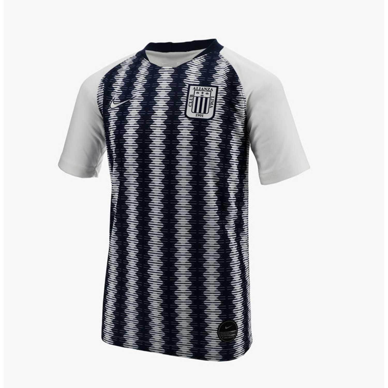 Nike al y nk brt stad jsy ss hm Negro / blanco Camisetas y Polos Deportivos