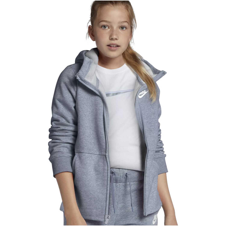 Nike g nsw hoodie fz pe Plomo Plumas y alternos