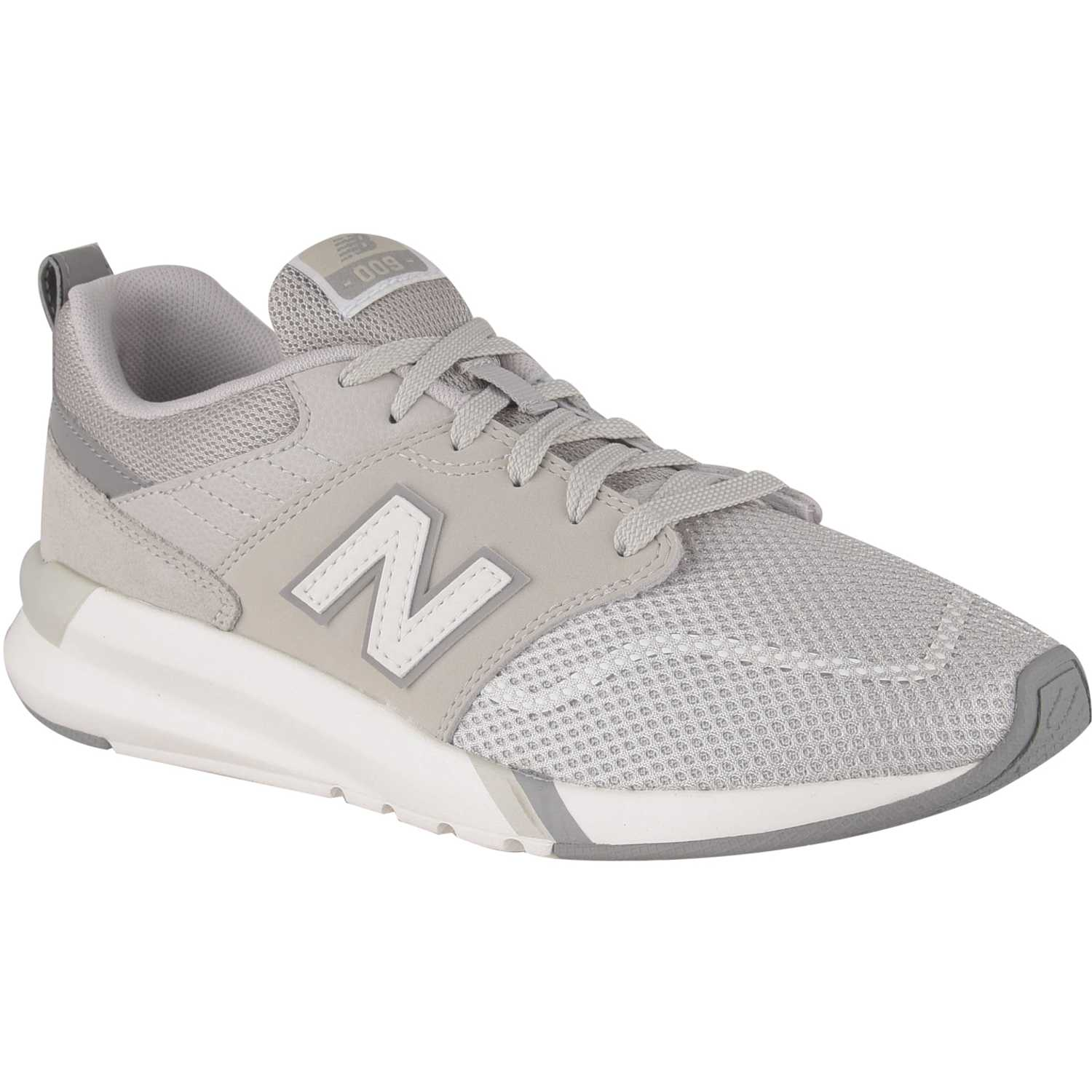 new balance mujer gris y blanco