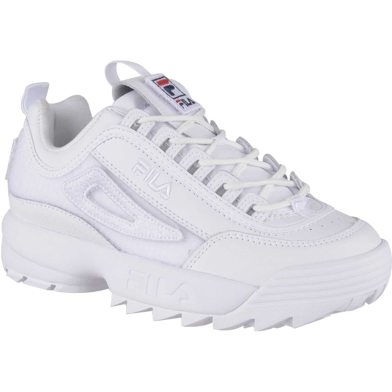 Fila diruptor ii patches Blanco Walking