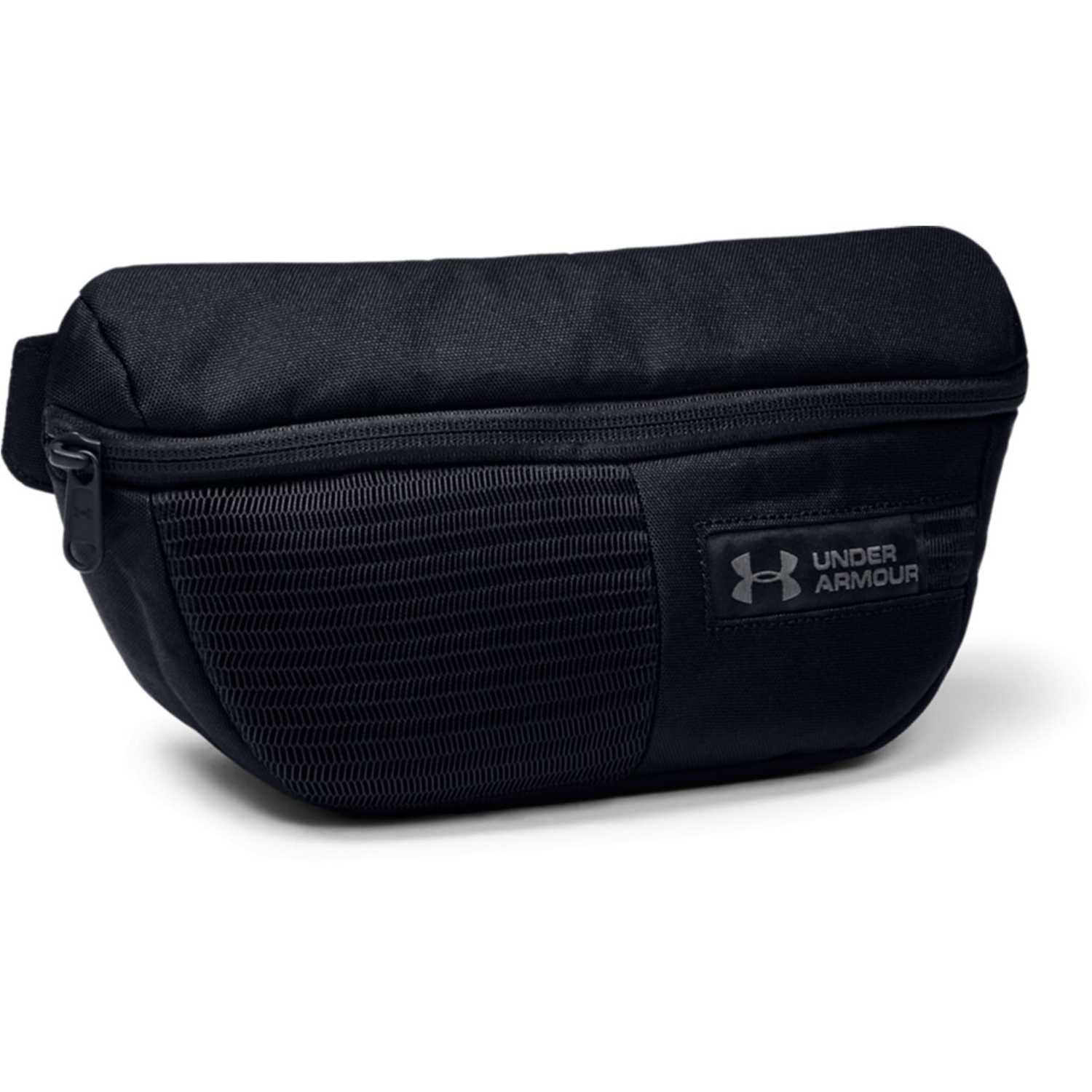 Under Armour UA Waist Bag Negro / plomo Canguros