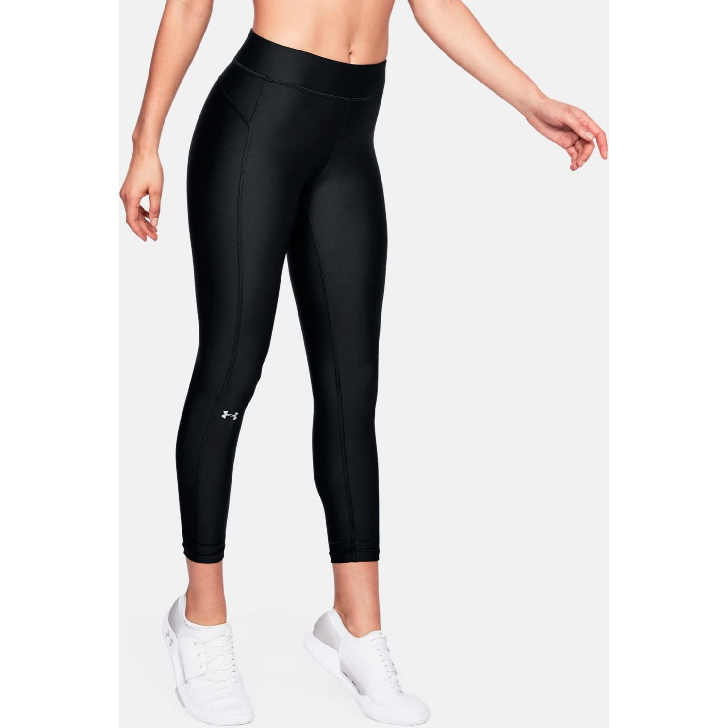 Under Armour Ua Hg Armour Ankle Crop Negro Leggings deportivos