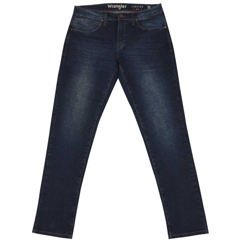 Wrangler larston retro Navy Jeans