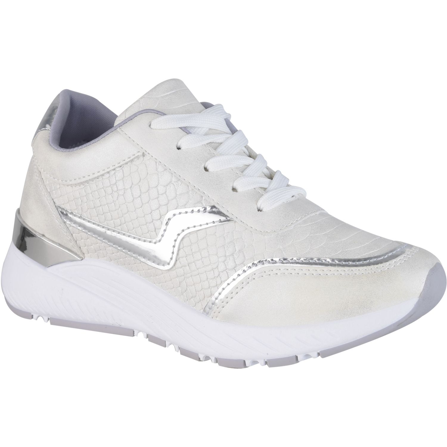 Platanitos Z 44 Blanco Zapatillas Fashion