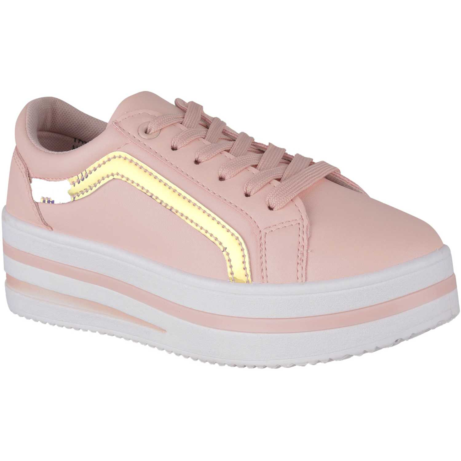 Platanitos zc 871 Rosado Zapatillas Fashion
