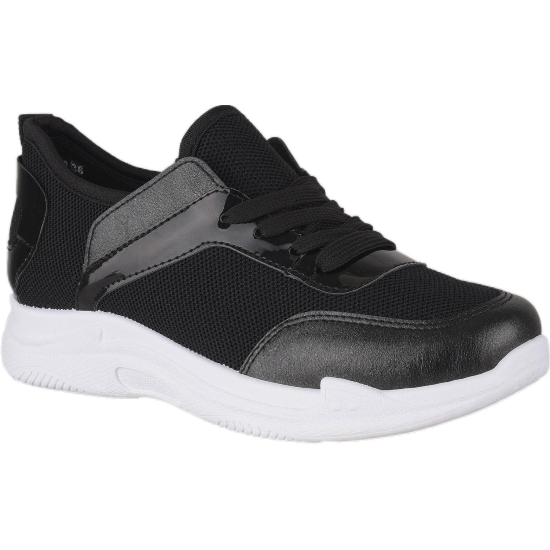 Platanitos Z Ib02 Negro Zapatillas de moda