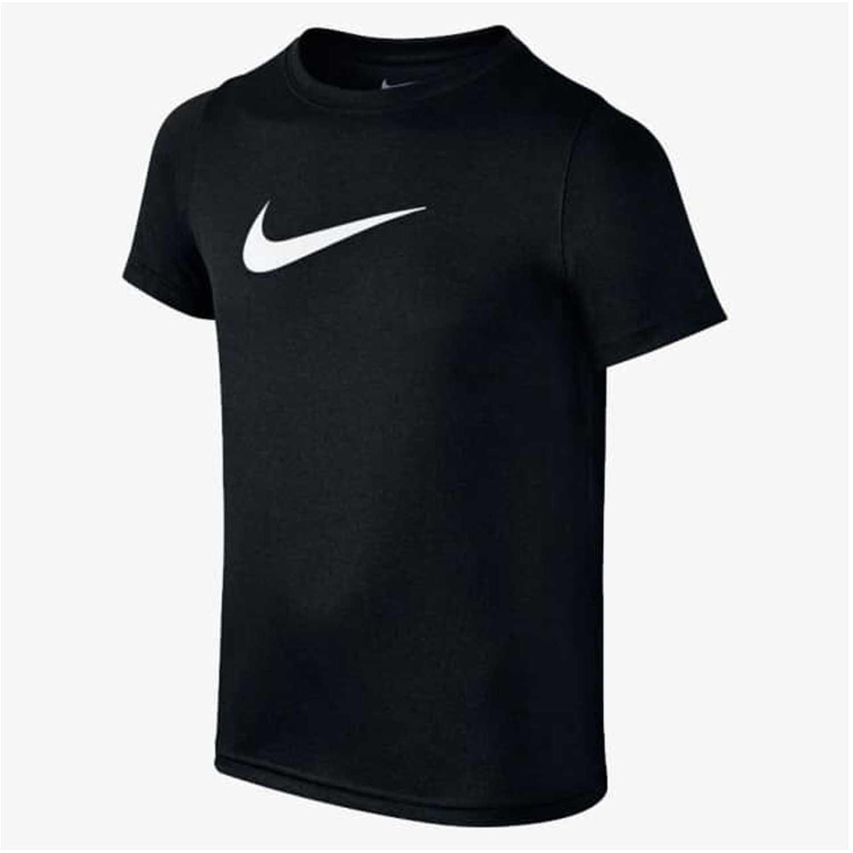 Polo de Jovencito Nike Negro / blanco b nk dry tee ss swoosh solid