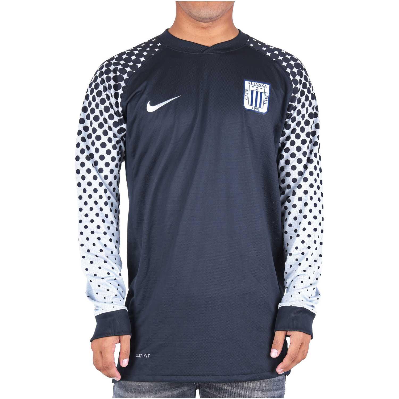 Camisetas de Hombre Nike Negro eml al ls goalie jsy