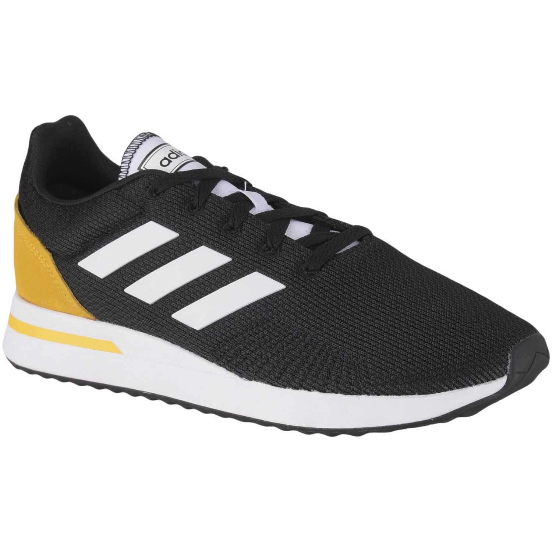 Deportivo de Hombre Adidas Negro / amarillo run70s