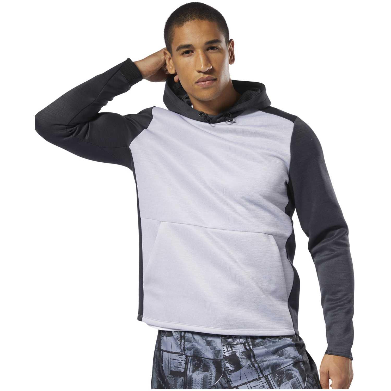 Reebok ost spacer hoodie Negro / plomo Hoodies y Sweaters Fashion