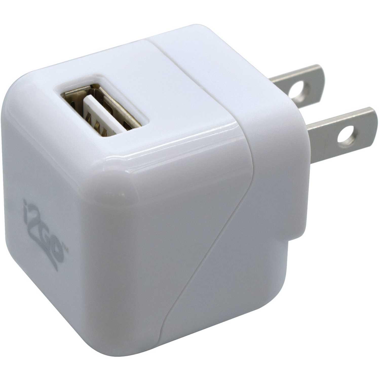 I2go Cargador Usb De Pared De 1.0a Blanco Blanco Cargadores de baterías de uso doméstico