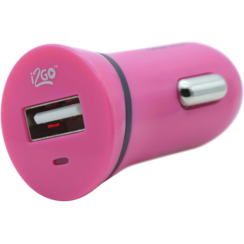 I2go cargador usb de carro  de 1.0 a  rosado Rosado cargadores de coche