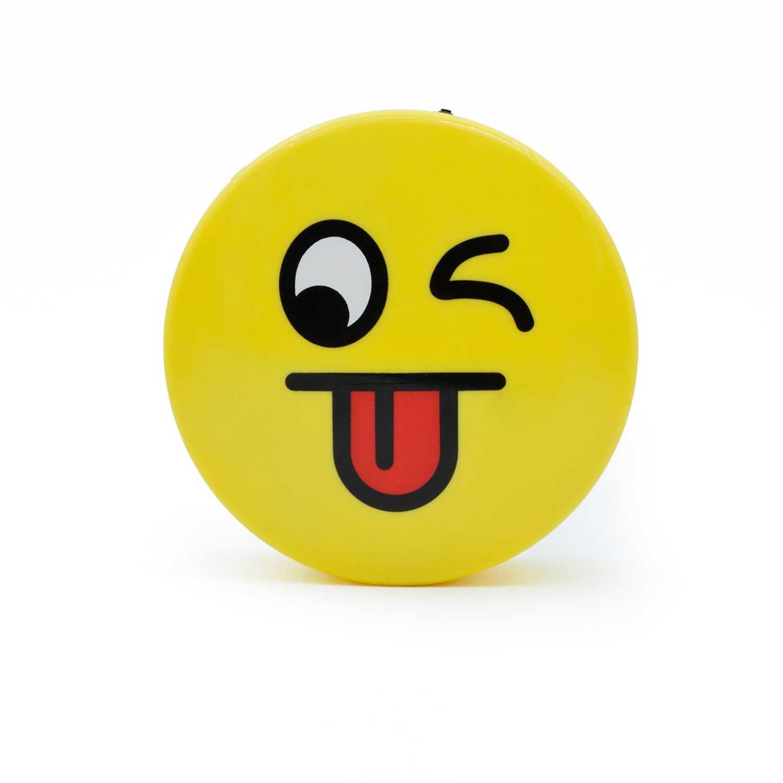 Parlante de Mujer Fugu Amarillo parlante  bluetooth de emoji