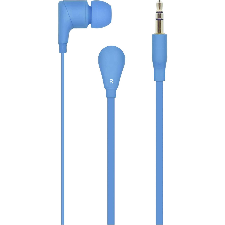 I2go audifonos de silicona azul Azul Auriculares en la oreja