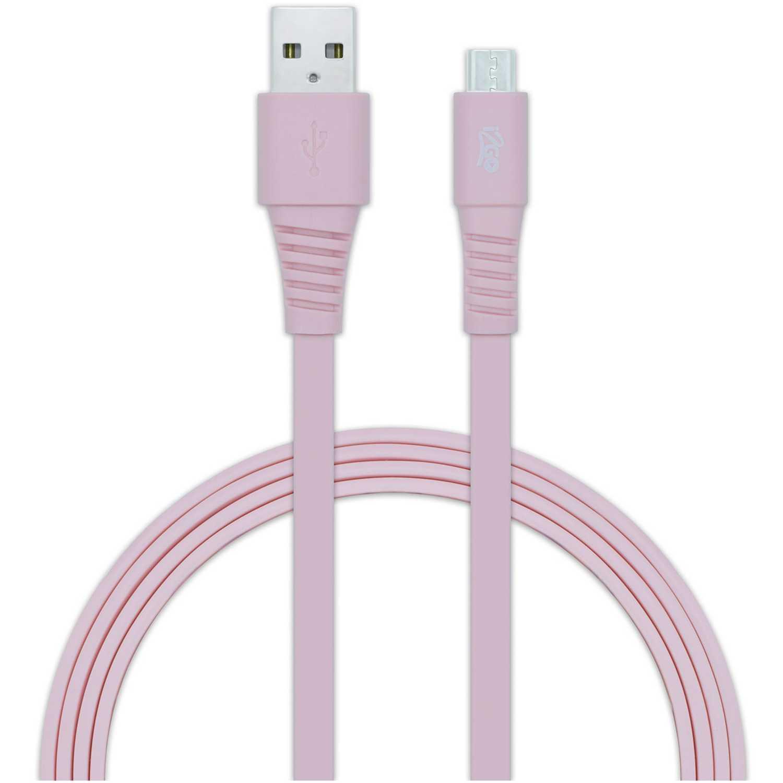 Cable usb de Mujer I2go Rosado cable usb 2.0 micro usbrosado