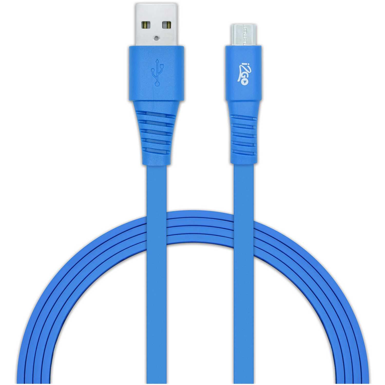 Cable usb de Mujer I2go Azul cable usb 2.0 micro usbazul