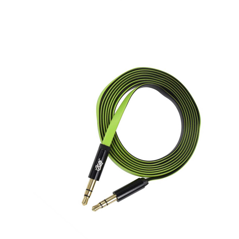 I2go cable auxiliar 1.2 mt verde Verde de uniones de cable