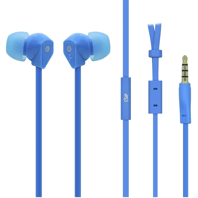 I2go Pro audifono con microfono azul Azul Auriculares en la oreja