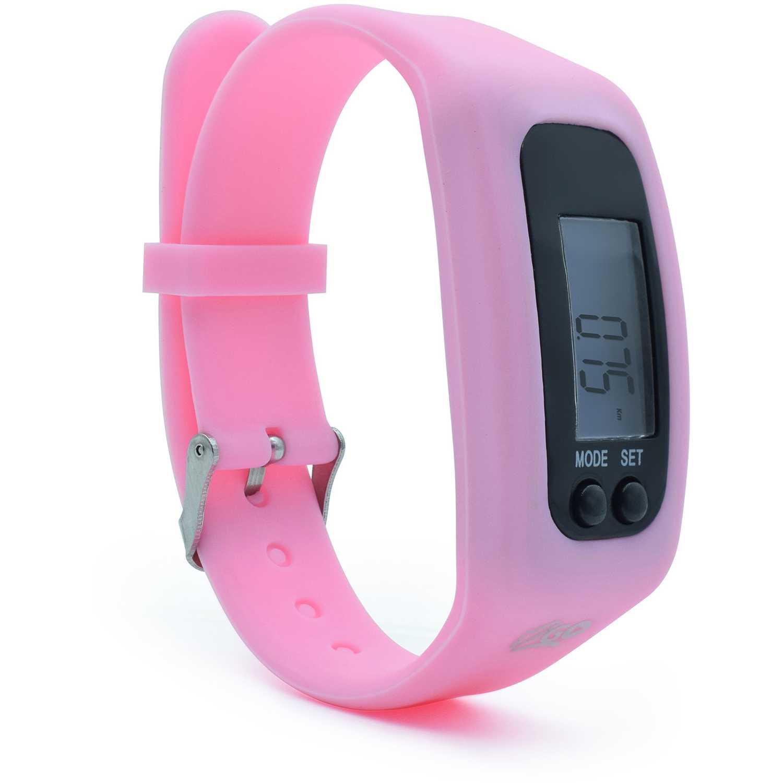 Reloj Deportivo  I2go Rosado reloj fitnes cuenta pasos calorias distancia rosa