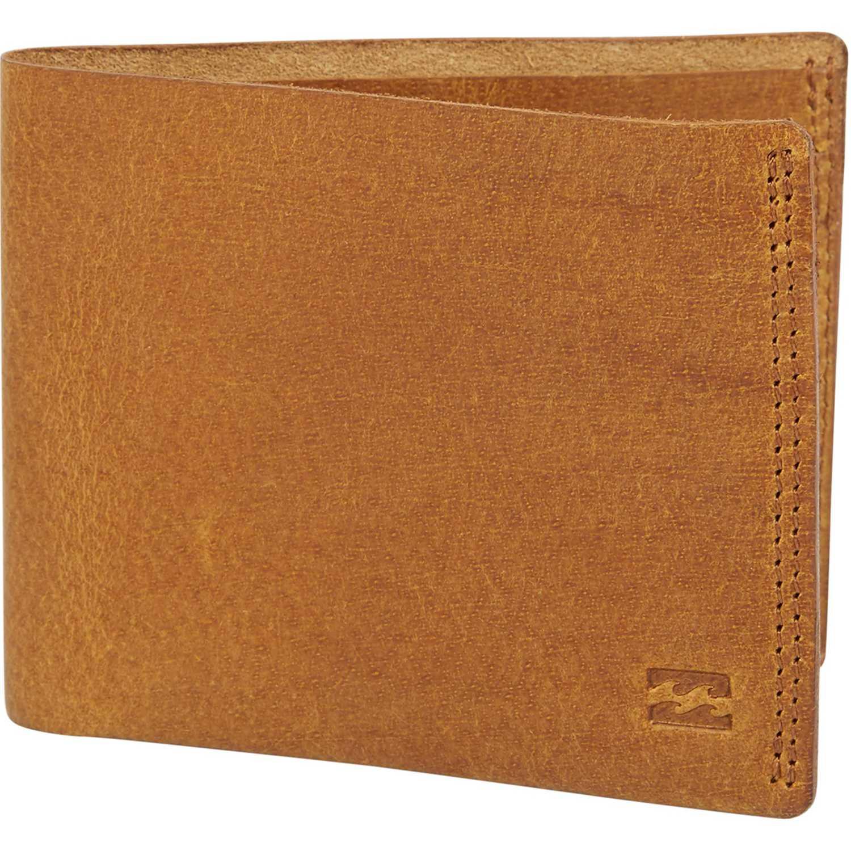 Billabong All Day Leather Marron Billeteras