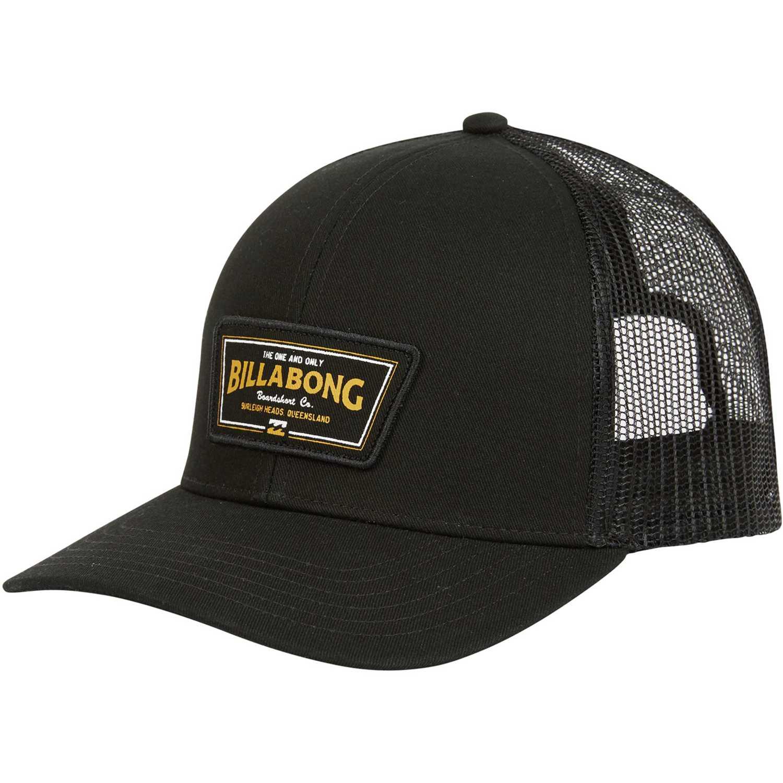 Billabong walled trucker Negro Gorros de Baseball