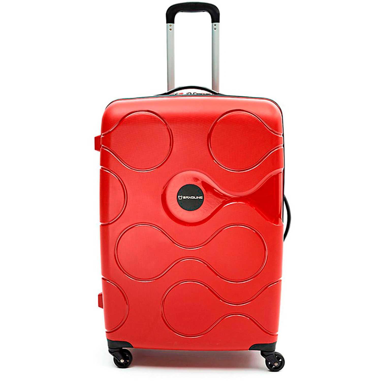 Saxoline spinner 77/28 red atlas Rojo Portafolios