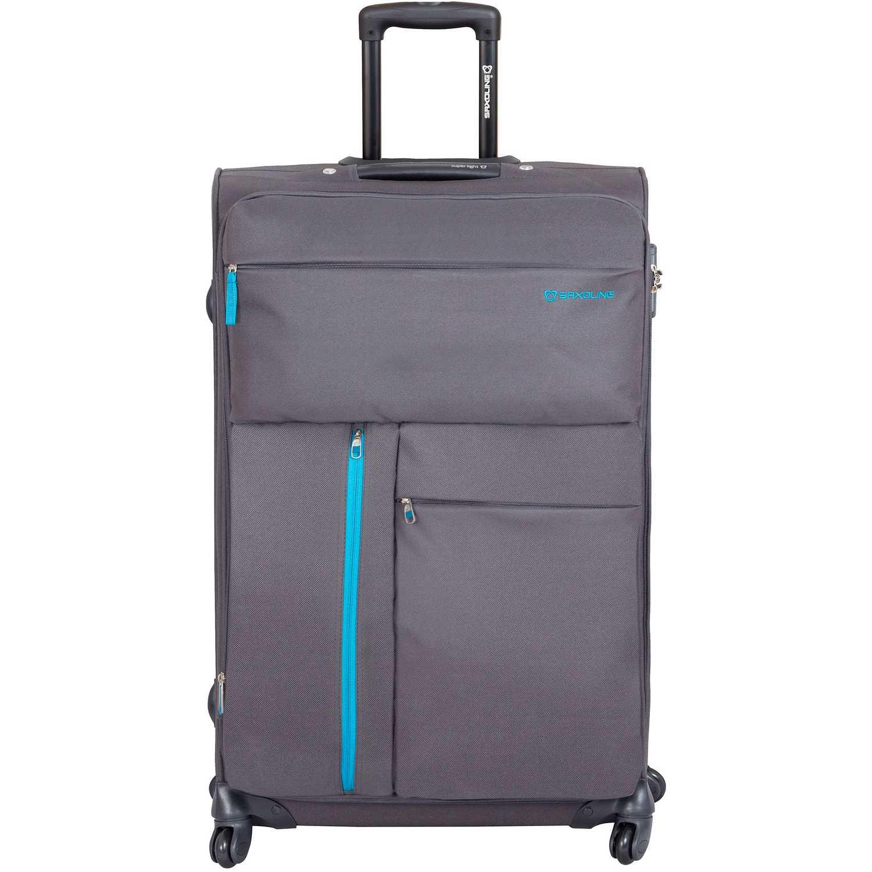 Saxoline maleta 633 grey rio Plomo Portafolios