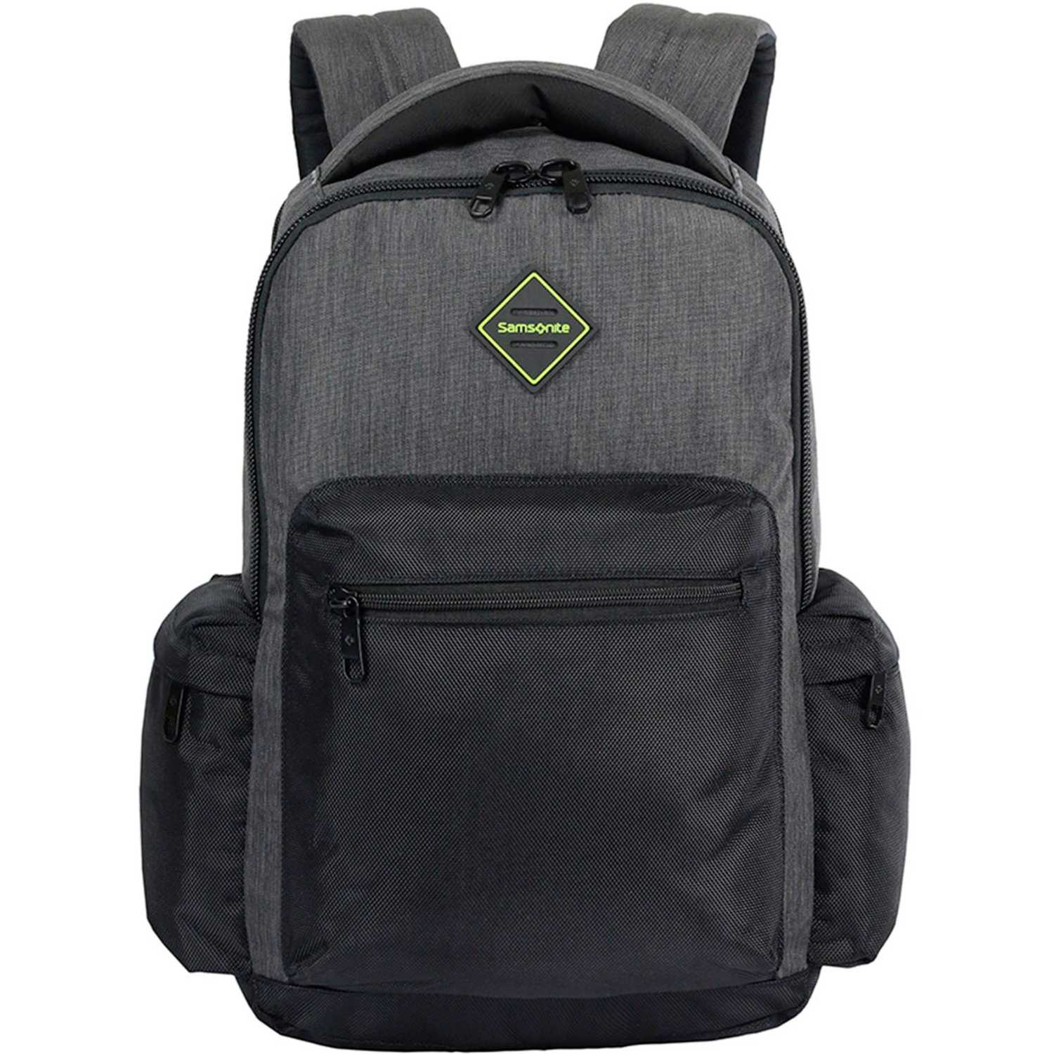 Mochila  Samsonite Gris / negro laptop backpack 16 dark grey ultimate server
