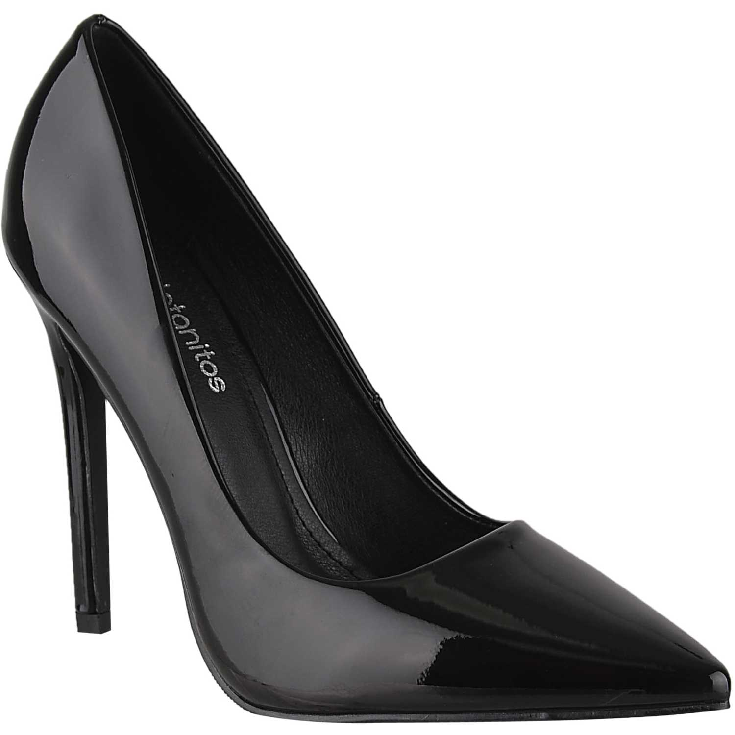 Platanitos cv 2283 Negro Estiletos y Pumps