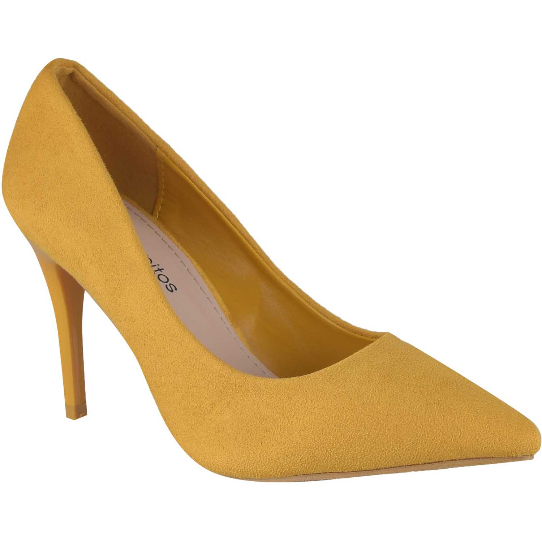 Calzado de Mujer Platanitos Amarillo cv 9011g