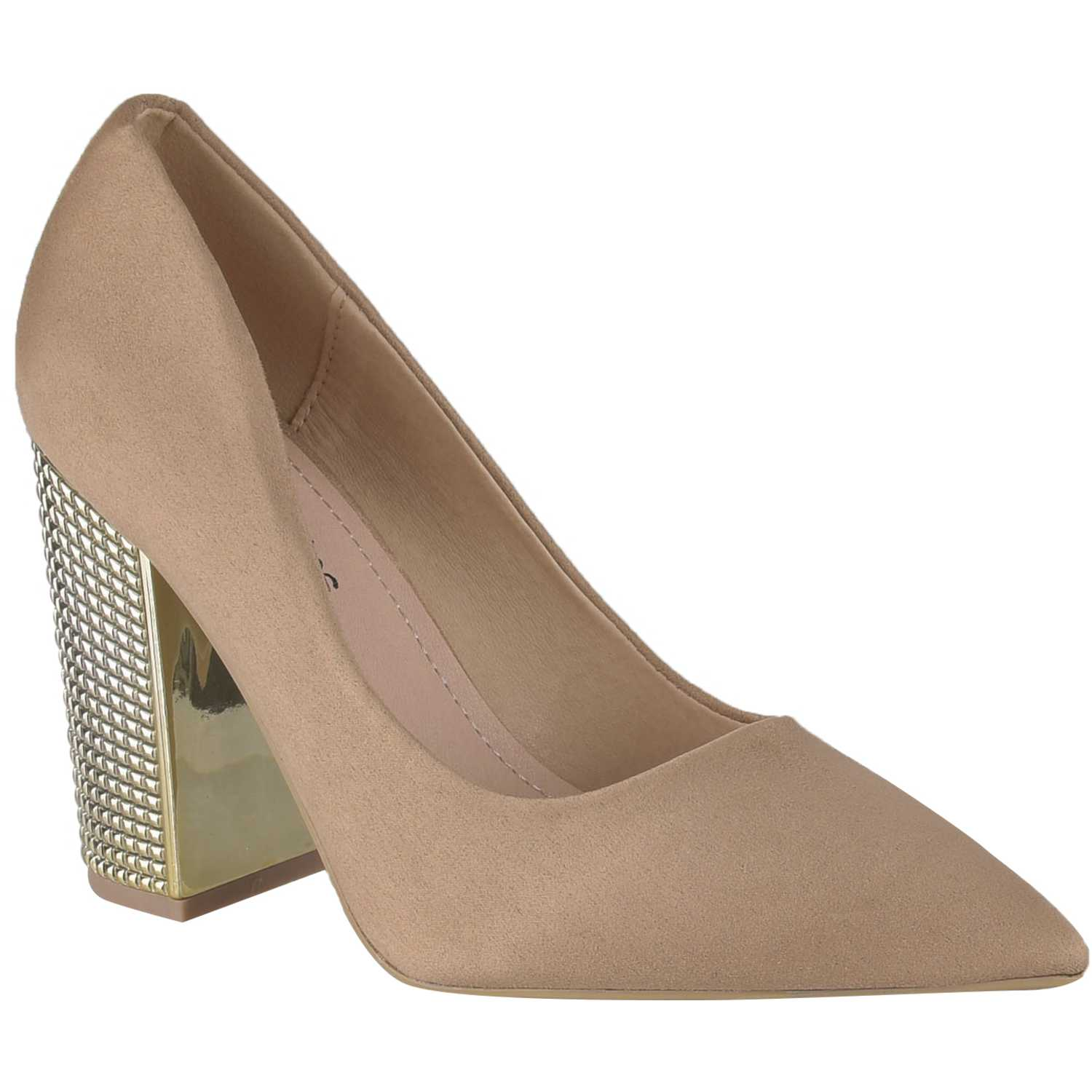 Platanitos cv 6681 Beige Estiletos y Pumps