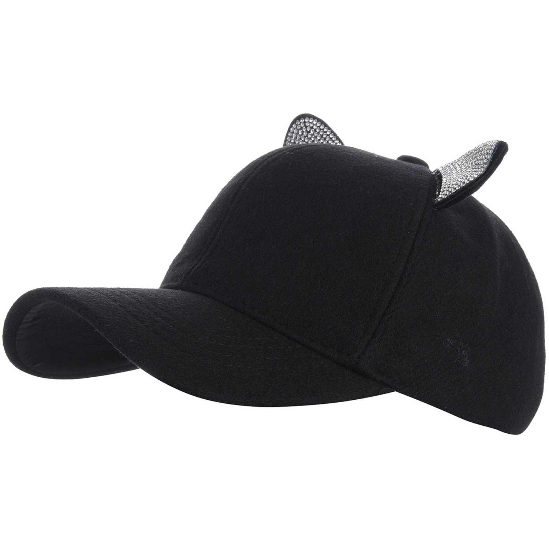 Platanitos 30091025 Negro Gorros de Baseball
