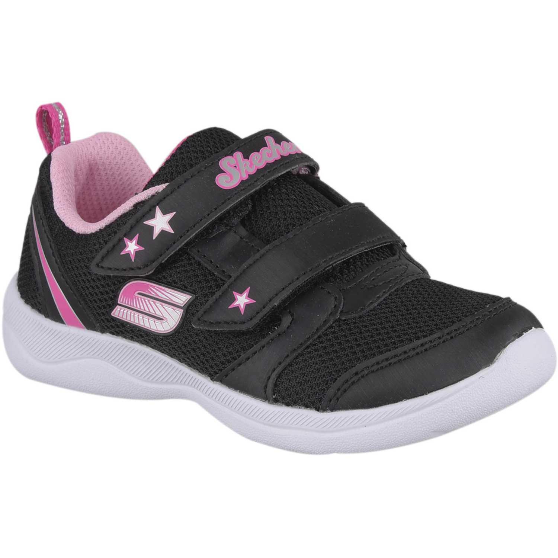 Skechers skech-stepz 2.0 Negro / rosado Walking