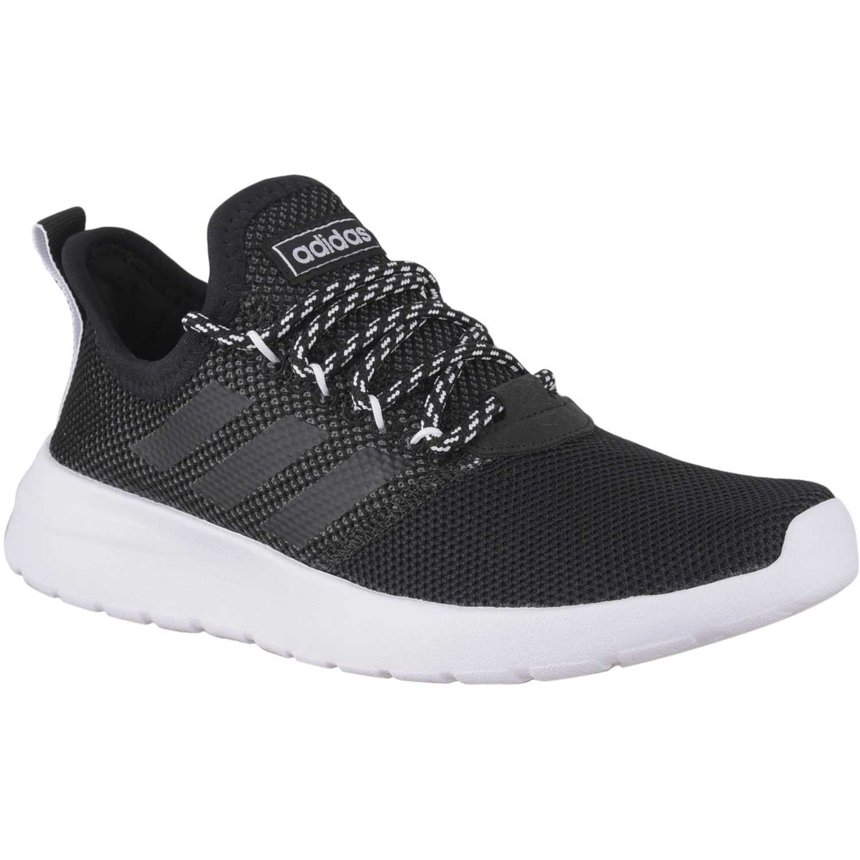 Adidas lite racer rbn Negro / blanco Walking | platanitos.com