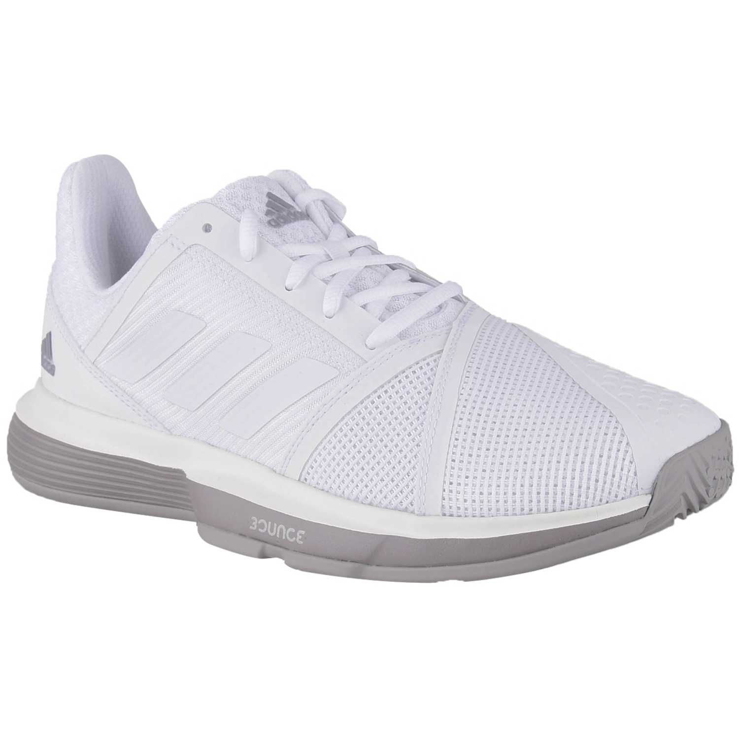 Adidas courtjam bounce w Blanco / gris Mujeres