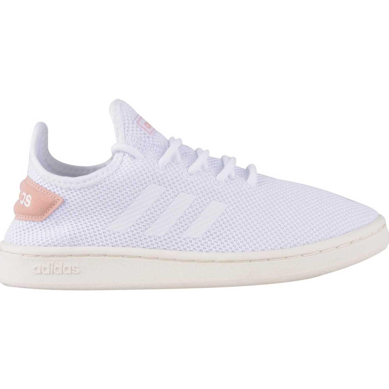 Casual de Mujer Adidas Blanco / Melon court adapt