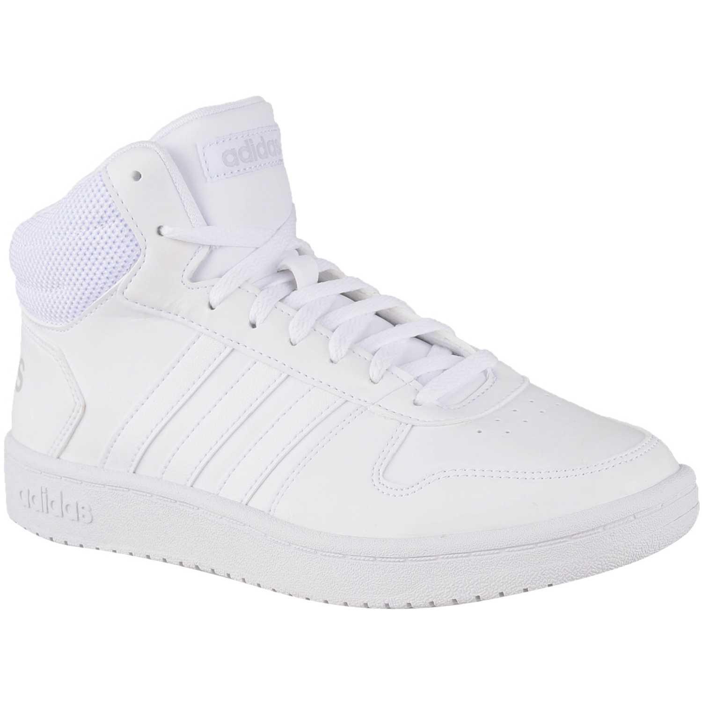 Adidas hoops 2.0 mid Blanco Walking