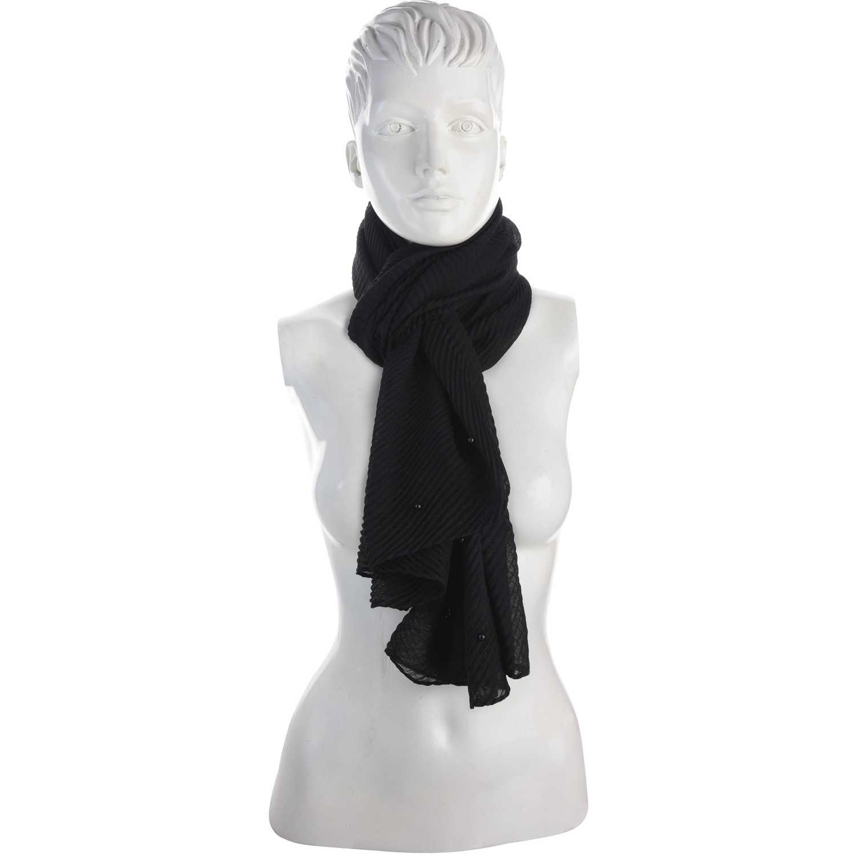 Bufandas de Mujer Platanitos Negro 10241025