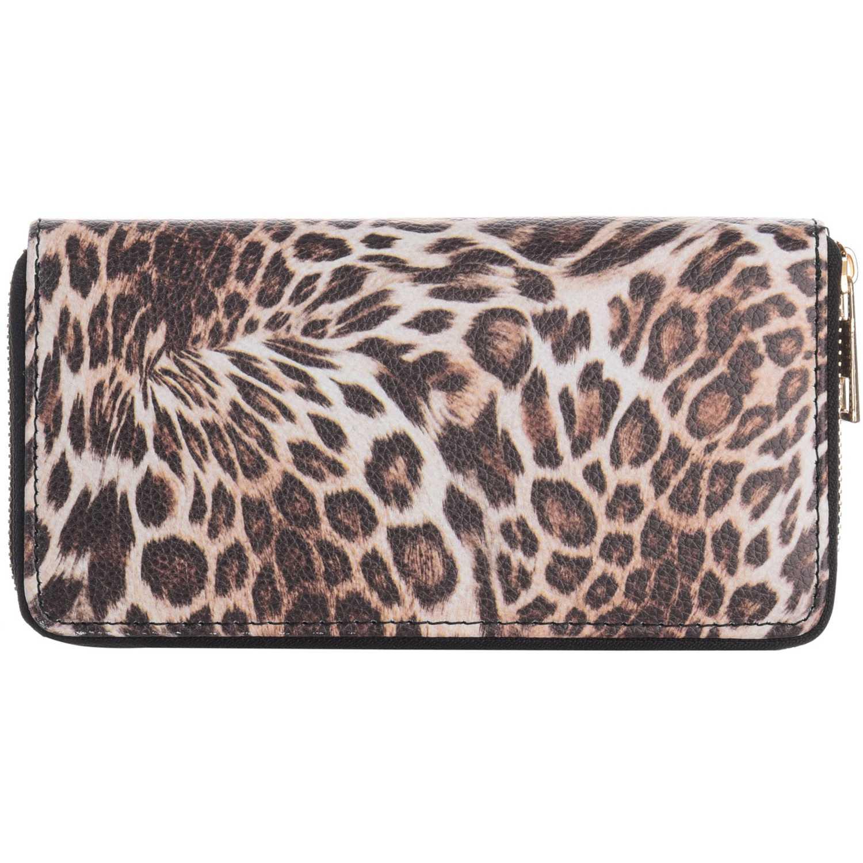 Billetera de Mujer Platanitos Leopardo / Marron 18wwxx8062