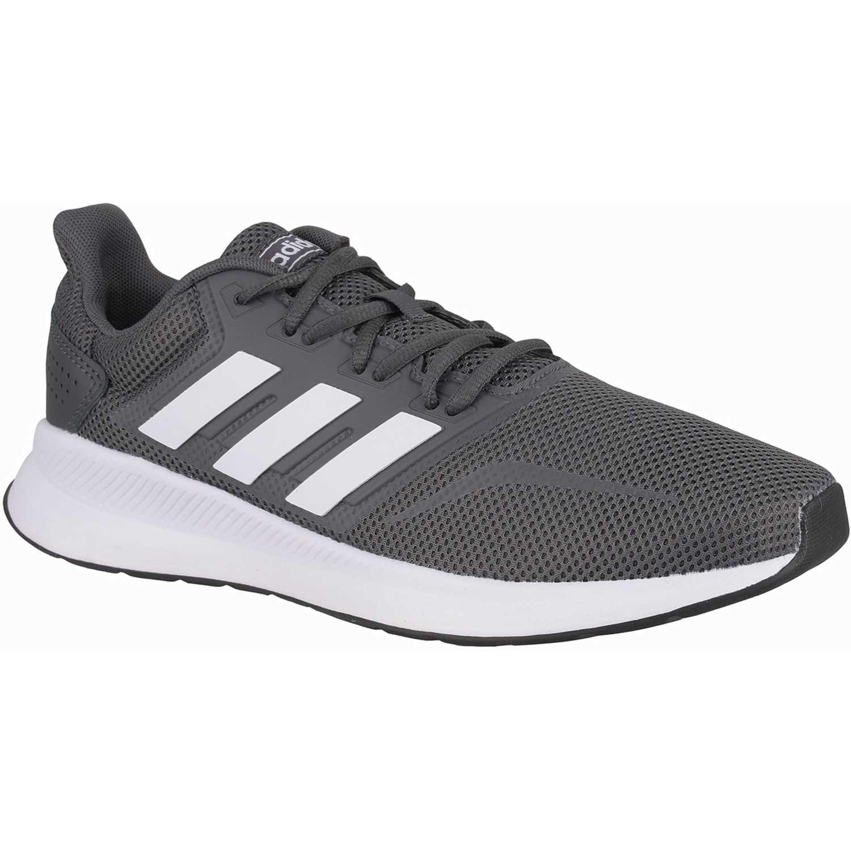 Adidas runfalcon PLOMO / BLANCO Running en pista