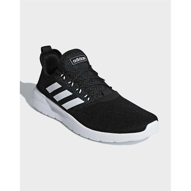 Casual de Hombre Adidas Negro / blanco lite racer rbn