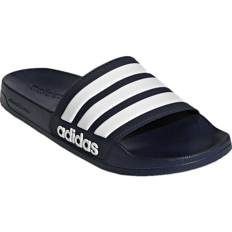 Adidas adilette shower Navy / Blanco Sandalias deportivas y slides